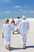 foto of holding hands  - Two couples - JPG