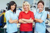 Three Female Dentists