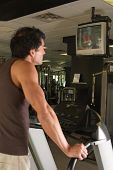 Man Exercising On Treadmill 7