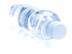 foto of bottle water  - Pet bottle close - JPG