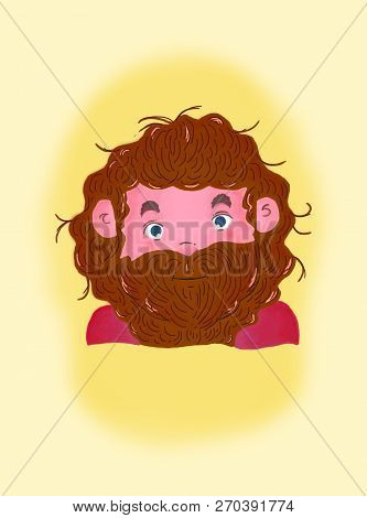 Illustration Of Rubeus Hagrid From