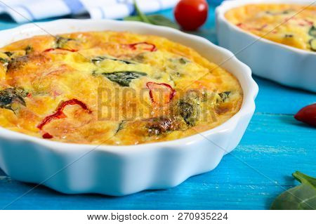 Frittata With Fresh Vegetables And