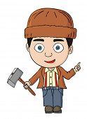 Lumberjack or logger