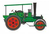 Steamroller steam roller vector