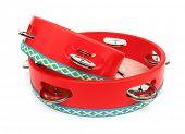 Tambourine red