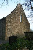 Church Ruins Gable