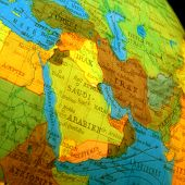 picture of north sudan  - globe of the world with many countries - JPG