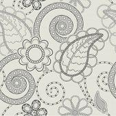 seamless paisley design