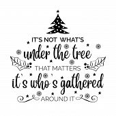 Inspirational Christmas Quote poster