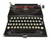 Antique Portable Typewriter