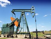 foto of nonrenewable  - Oil Pump jack - JPG