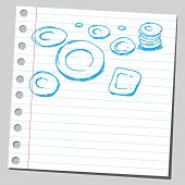 Scribble dishes