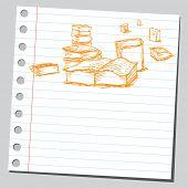 Scribble books