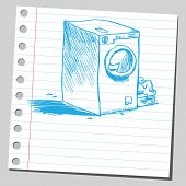 Scribble washing machine