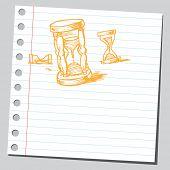 Scribble hourglass