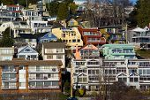 View Of White Rock Residential Neighborhood Near The Beach Large