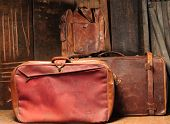 Old luggage.