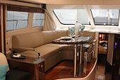 Motor Yacht Dining Room