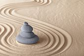 zen garden meditation stone for meditation and relaxation conceptual for simplicity harmony purity a