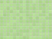 Green Tile Background