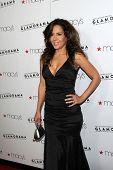 LOS ANGELES - 7 SEP: Maria Canals-Barrera llega al pasaporte de Macy Glamourama 30 en Orpheum