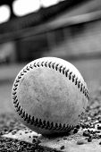 B&W Baseball