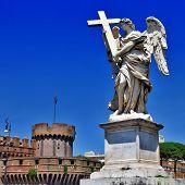roman landmarks, Sant angello castel and angel