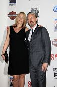 LOS ANGELES - SEP 8:  Tommy Flanagan, Dina Livingston arrives at the