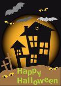 Halloween House.Eps
