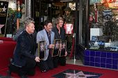 LOS ANGELES - SEP 17:  Rascal Flatts  at the Hollywood Walk of Fame Star Ceremony for Rascal Flatts