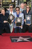 LOS ANGELES - SEP 17: Gary LeVox, David Foster, Jay DeMarcus, JoeDon Rooney at a ceremony where the band Rascal Flatts get a star on the Walk of Fame on September 17, 2012 in Los Angeles, California