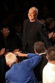 NEW YORK - SEPTEMBER 12: A designer Michael  Kors walks the runway at the MICHAEL KORS Spring/Summer