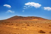picture of papagayo  - Ajaches mountain in Lanzarote Punta Papagayo at Canary Islands - JPG