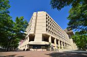 Washington DC - edificio de FBI J. Edgar Hoover en Pennsylvania Avenue
