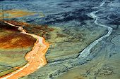 image of greenpeace  - Nature pollution of a copper mine exploitation - JPG