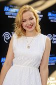 LOS ANGELES - JUN 17: Dove Cameron at The World Premiere for 'Monsters University' at the El Capitan