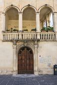 Costantini Palace. Lecce. Puglia. Italy.