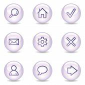 Basic Web Icons, Glossy Pearl Series