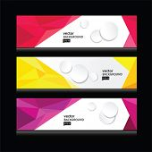 abstract header vector set EPS 10