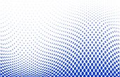stock photo of dots  - vector illustration of a dotted halftone background - JPG