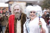 Frozen Dead Guy Look Alike And Ice Queen 2009
