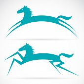Vector de la imagen de un caballo