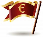 Royal-flag-euro-money