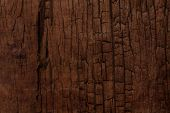 picture of log fence  - old cracked wooden surface background - JPG