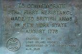 Revolutionary war memorial site in Bay Ridge area of Brooklyn