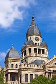 Denton County Courthouse in Denton Texas