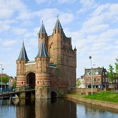 The Gate of Amsterdam, Haarlem, Holland