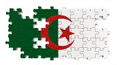 Algerian National Flag