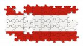 Austrian National Flag