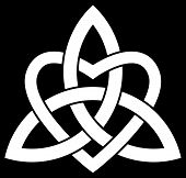 Celtic Trinity Knot (triquetra)